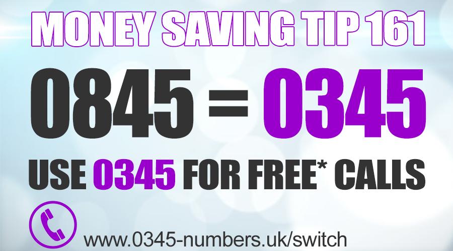 0345 Telephone Numbers