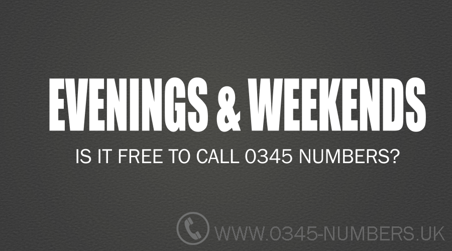 0345-calls-weekends-evenings