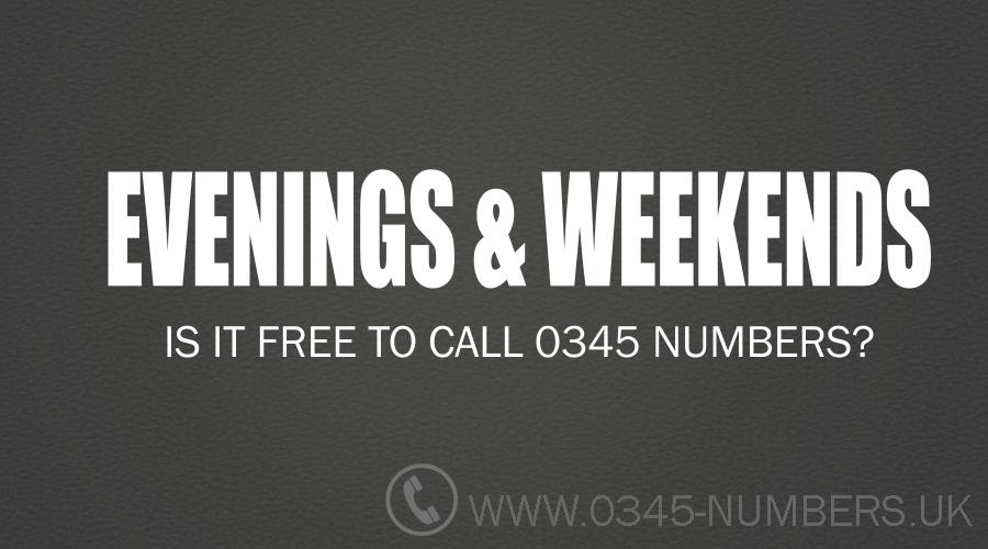 0345-calls-weekends-evenings